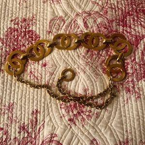 Celine Accessories - Céline gold color belt